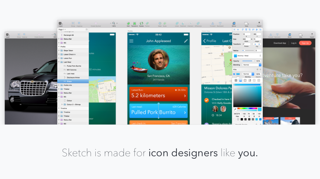 Sketch Designer For Mac Screenshot