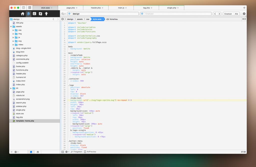 Coda - Editor for Mac