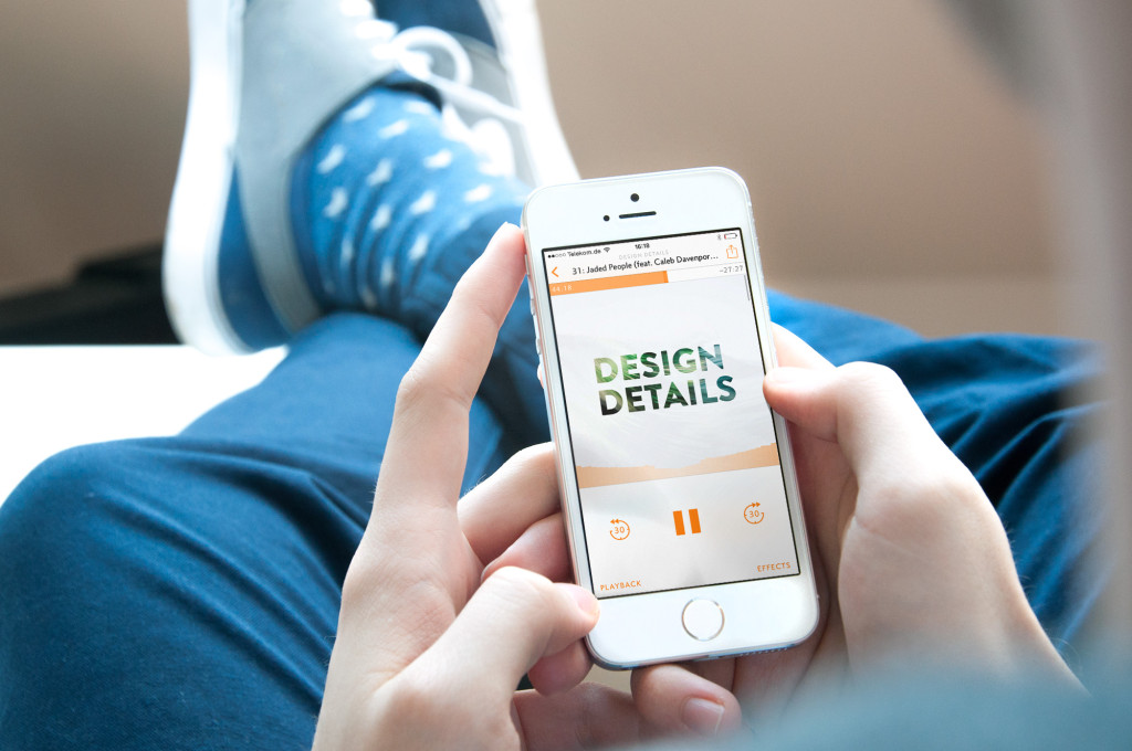 App schneller machen: iPhone Podcast Overcast Design Details