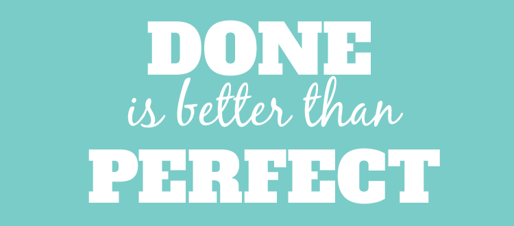 App erfolgreich machen: Done is better than perfect